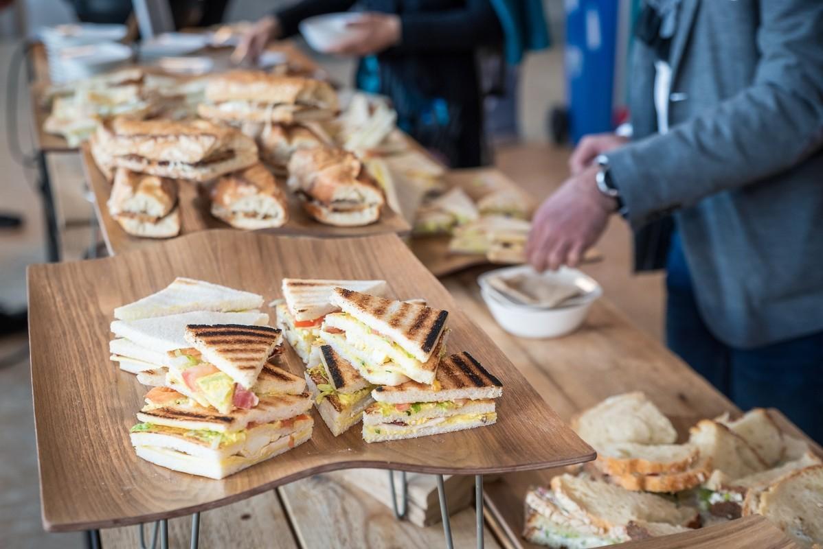 buffet de sandwichs